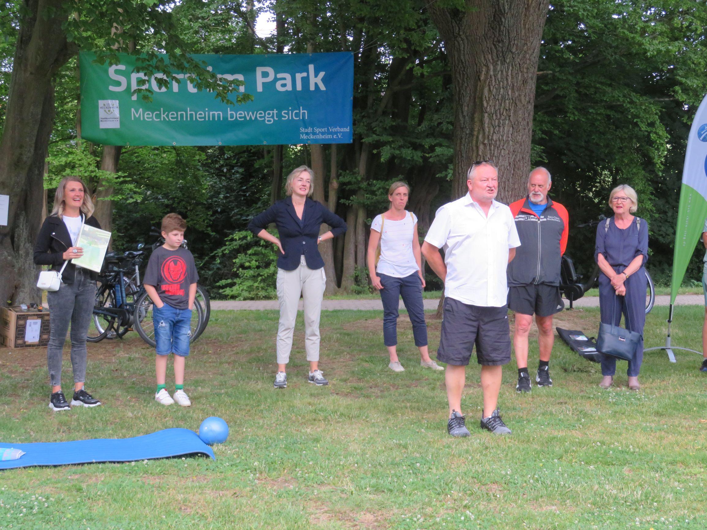 Eröffnung Sport im Park
